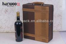 Hot Popular PU Wine Box China Wine Packaging