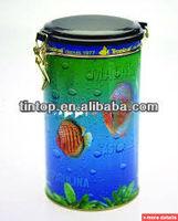 Round tin /coffee/tea tin box