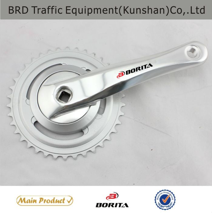 Hot sell ! Lifestyle/city Riveted bicycle crankset ( with disc)