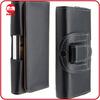 Luxury Horizontal Leather Leder Belt Clip Case for Samsung Galaxy S4