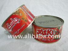 tuna canned in veg oil