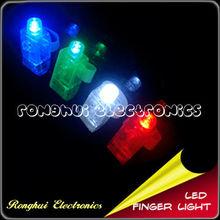 Mini Colorful LED Silicone Finger Lights