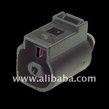 1J0973752 - 2 Way Sealed Female Connector 4.8 mm, 1-row, Coding I (1J0 973 752, 1JO 973 752, 1JO973752, 42122900)