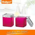 quadrados de plástico colorido cozinha vasilha set