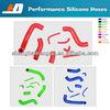 silicone rubber radiator hose For SUBARU WRX/STI GDA GDB EJ20 SILICONE RADIATOR HOSE KIT 2PCS 2000-2007 upper radiator hose