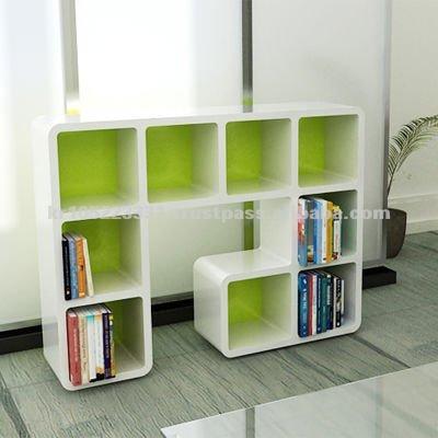 modern bookcase bookshelf wall hanging shelf shopfittings displays