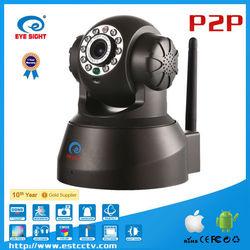 Cheap UPNP P2P connection IOS pan and tilt ip robot security system camera