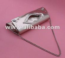Hot Fashion Women's Purse Shoulder Clutch Evening Bag Snakeskin PU Leather