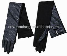 skin color prevented bask in driving gloves/non-slip ultraviolet female thin gloves/shade lovely short motorcycle long gloves