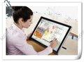 """19""""( kingtee 19md com hd de colocar para fora) tablet gráfico lcd mostrar caneta, monitor, tela de toque; digital pódio"""
