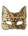 accesorios de halloween de leopardo diadema máscara