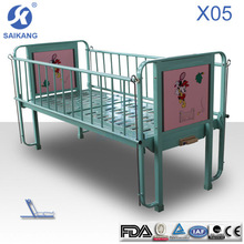Single Crank Children Bed iron baby bed