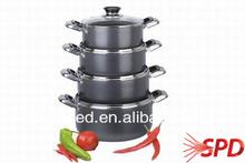 ceramic or aluminum plates hair straightener die-cast aluminum cookware set fiberglass non-stick oven liner