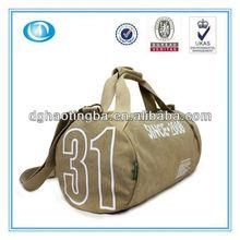 2013 canvas travel shoulder bag for men