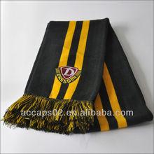 2013 acrylic football team scarf