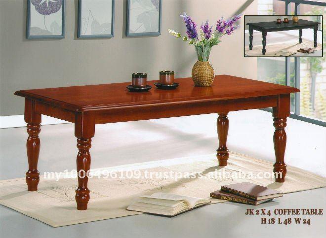 Mesas de madera para sala moderna imagui for Mesas de madera para sala