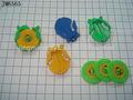 Flyer pequeño plato/juguetes de la promoción/juguetes de la cápsula/baratos/de bajo precio