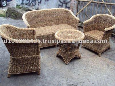 Modern Rattan Sofa Set Designs