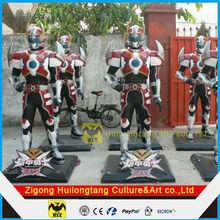 Fiberglass Robot Movies Staute Cartoon Sculpture