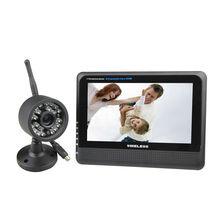 2.4GHZ Digital RF Modulation 7 Inch Monitor4-CH Baby Security Kit