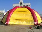 big inflatable tent