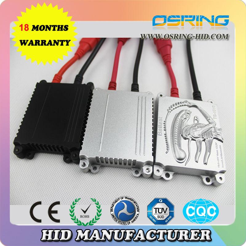 OSRING anti-interference hid ballast wireless hid ballast hid bi-xenon kit 35w ultra slim ballast