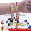 personalizado tecidos novos modelos de pulseiras para brindes promocionais