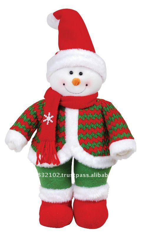 Mu ecos navide os en polar 2014 imagui - Adornos navidenos de tela ...