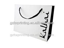 clothing shop trendy paper bag for garment