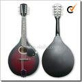 Círculo o F boca un estilo de madera mandolina ( AM03 )