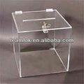 Klaren acryl-display box mit schloss