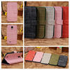 high quality wholesale paypal accept mobile phone leather wallet case for s4 i9500