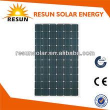 255W Monocrystalline Solar Panel for 24/48V System with CE/TUV/IEC best price per watt