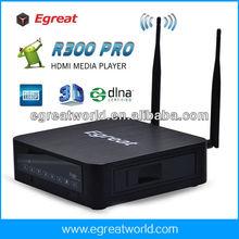 Realtek1185 high definition network media player output HDMI+Composite, Audio+SPDIF