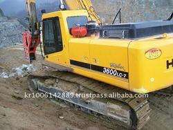 HYUNDAI used heavy equipment of KOREA