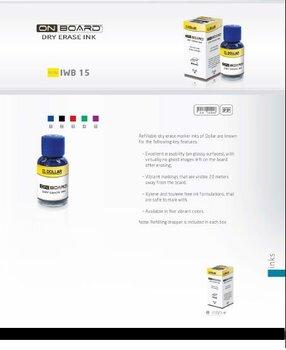 On-board Dry Erase Ink