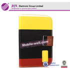 colorful flip leather cover for Samsung Galaxy S3 mini