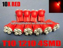 T10 168 194 2825 4-SMD Car LED Licence Plate Light