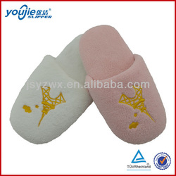 cute soft sponge sole hotel slippers air-conditioned rooms