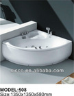 hight quality!! abs corner bathtub.acrylic shallow bathtub