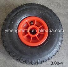 Pneumatic Rubber Wheel 3.00-4 2PR/4PR