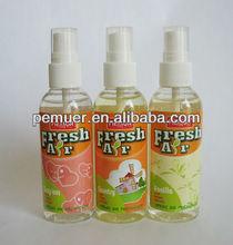 Deodorant for cars aerosol bottle air freshener/car air freshener with oil fragrance