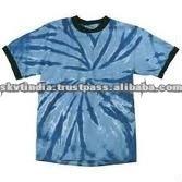 tie dye cotton t shirt