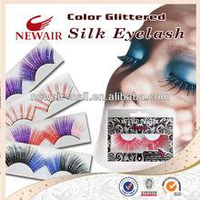 Vivi Party Color Glittered Silk Fake False Eyelash Eyelashes