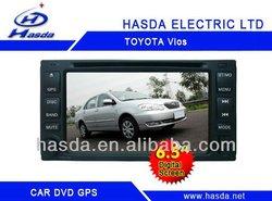 Toyota Vios car GPS bluetooth FM/AM radio RCA AUX IN DVD PLAYER