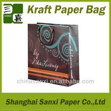 Cheap kraft paper bag for shopping paper bag