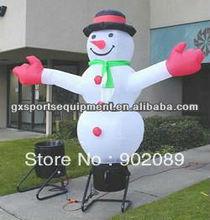 Advertising inflatable Santa Claus air dancer/sky dancer