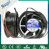 plastic blade 172x150x51mm electrical axial fan motor manufacture