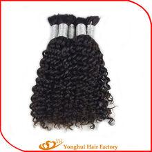 TOP hair industry Yonghui 100% human hair weave natural curly hair bundle