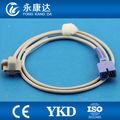 7 nellcor reutilizables pin dedo pediátrica suave punta de silicona spo2 sensor de la sonda médico necesita ext- cable de tpu ce& iso13485